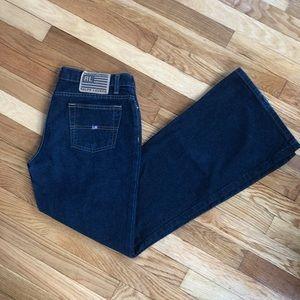 Ralph Lauren Size 12 Vintage Polo Flare Jeans